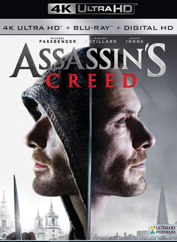 ASSASSINS CREED 4K UHD 4K iTunes DIGITAL COPY MOVIE CODE