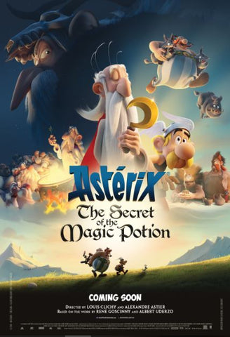 ASTERIX THE SECRET OF THE MAGIC POTION HD iTunes DIGITAL COPY MOVIE CODE