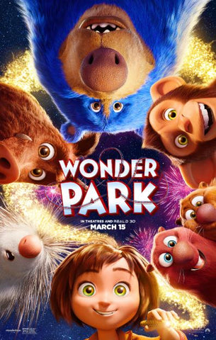 WONDER PARK HDX UV ULTRAVIOLET DIGITAL MOVIE CODE