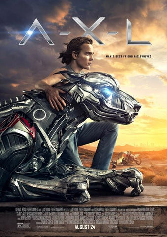 A-X-L (AXL) HD iTunes DIGITAL COPY MOVIE CODE