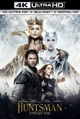 THE HUNTSMAN WINTER'S WAR EXTENDED EDITION 4K UHD 4K iTunes DIGITAL COPY MOVIE CODE