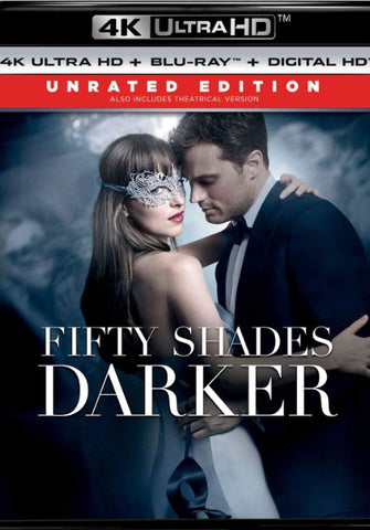 FIFTY SHADES DARKER UNRATED 4K UHD 4K iTunes DIGITAL COPY MOVIE CODE