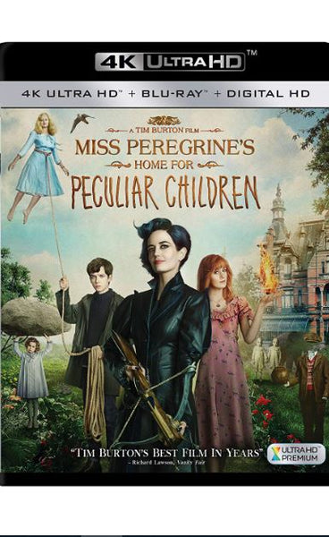 MISS PEREGRINES HOME FOR PECULIAR CHILDREN 4K UHD 4K iTunes DIGITAL COPY MOVIE CODE