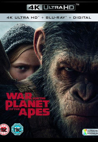 WAR FOR THE PLANET OF THE APES (#9) 4K UHD 4K iTunes, HD GOOGLE PLAY DIGITAL COPY MOVIE CODE (READ DESCRIPTION FOR REDEMPTION SITE/INFO) CANADA