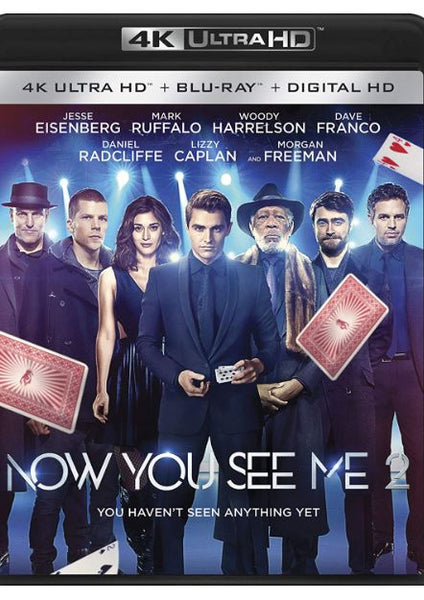NOW YOU SEE ME 2 4K UHD 4K iTunes DIGITAL COPY MOVIE CODE