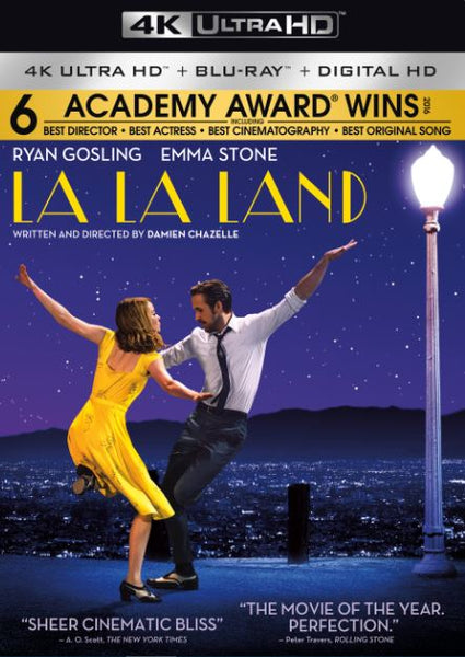 LA LA LAND 4K UHD 4K iTunes DIGITAL COPY MOVIE CODE