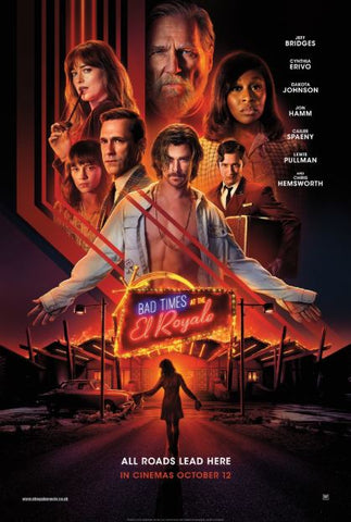 BAD TIMES AT THE EL ROYALE HD GOOGLE PLAY DIGITAL COPY MOVIE CODE
