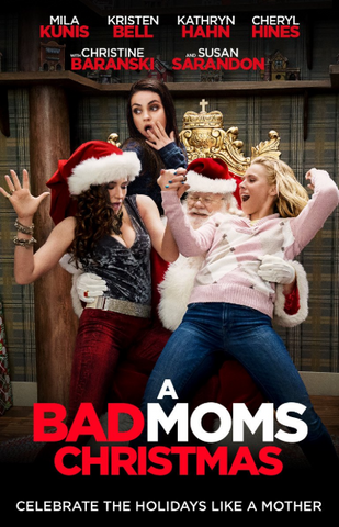 BAD MOMS CHRISTMAS HD iTunes DIGITAL COPY MOVIE CODE (DIRECT INTO ITUNES) USA