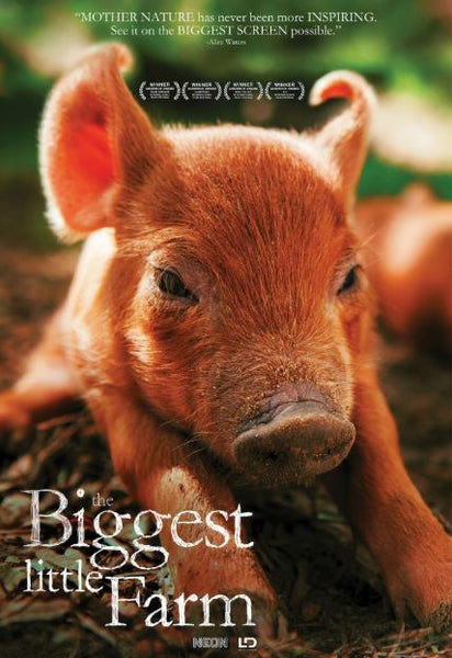 BIGGEST LITTLE FARM (THE) HD iTunes DIGITAL COPY MOVIE CODE