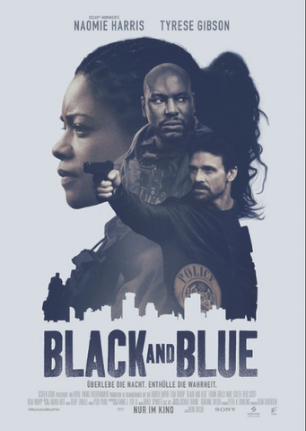BLACK AND BLUE HD GOOGLE PLAY DIGITAL COPY MOVIE CODE (READ DESCRIPTION FOR REDEMPTION SITE/INFO) CANADA