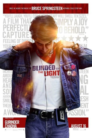 BLINDED BY THE LIGHT HDX MOVIES ANYWHERE (USA) / GOOGLE PLAY (CANADA) DIGITAL COPY MOVIE CODE