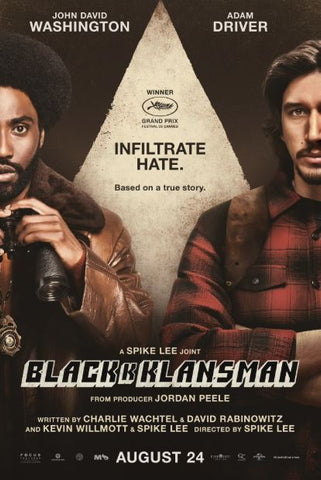 BLACKkKLANSMAN HD GOOGLE PLAY DIGITAL COPY MOVIE CODE