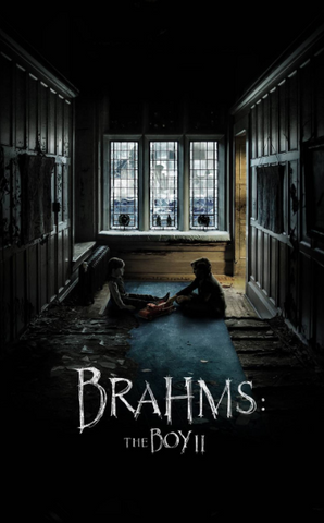 BRAHMS THE BOY 2 HD iTunes DIGITAL COPY MOVIE CODE - MUST HAVE A VALID CANADIAN iTunes ACCOUNT TO REDEEM