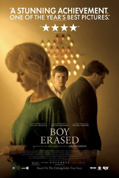 BOY ERASED HD GOOGLE PLAY DIGITAL COPY MOVIE CODE