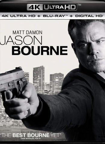JASON BOURNE 4K UHD 4K iTunes DIGITAL COPY MOVIE CODE