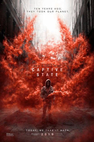 CAPTIVE STATE HD GOOGLE PLAY DIGITAL COPY MOVIE CODE