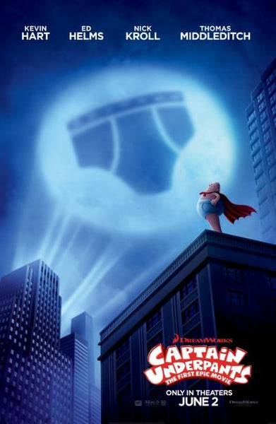 CAPTAIN UNDERPANTS HD MOVIES ANYWHERE DIGITAL COPY MOVIE CODE