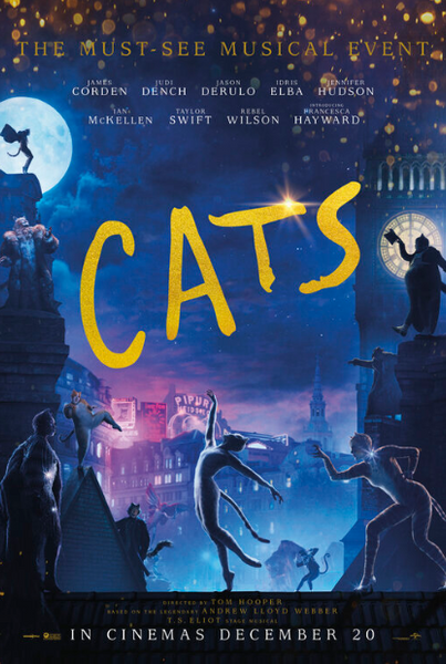 CATS (2019) HD GOOGLE PLAY DIGITAL COPY MOVIE CODE (DIRECT INTO GOOGLE PLAY) CANADA
