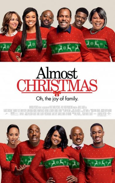 ALMOST CHRISTMAS HDX VUDU DIGITAL MOVIE CODE ONLY - USA