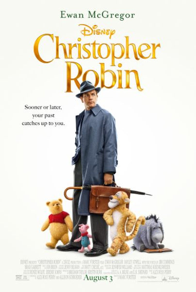 CHRISTOPHER ROBIN DISNEY HD DC DIGITAL MOVIE CODE
