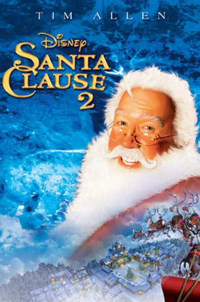 SANTA CLAUSE 2 (THE) DISNEY HD ITUNES DIGITAL COPY MOVIE CODE
