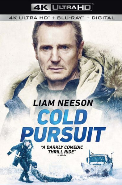 COLD PURSUIT 4K UHD 4K iTunes DIGITAL COPY MOVIE CODE