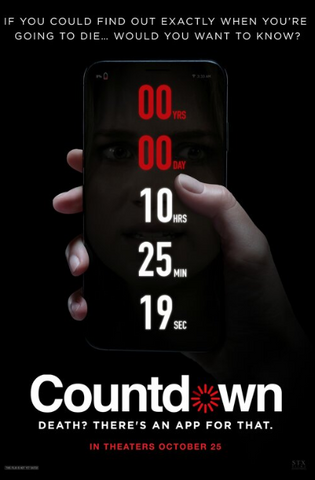 COUNTDOWN HD iTunes DIGITAL COPY MOVIE CODE