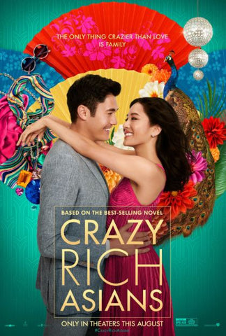 CRAZY RICH ASIANS HDX UV ULTRAVIOLET DIGITAL COPY MOVIE CODE