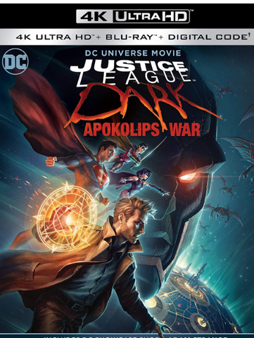 JUSTICE LEAGUE DARK APOKOLIPS WAR DC UNIVERSE 4K UHD MOVIES ANYWHERE (USA) / HD GOOGLE PLAY (CANADA) DIGITAL COPY MOVIE CODE (READ DESCRIPTION FOR REDEMPTION SITE)