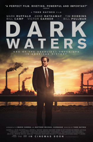 DARK WATERS HD GOOGLE PLAY DIGITAL COPY MOVIE CODE (READ DESCRIPTION FOR REDEMPTION SITE) CANADA