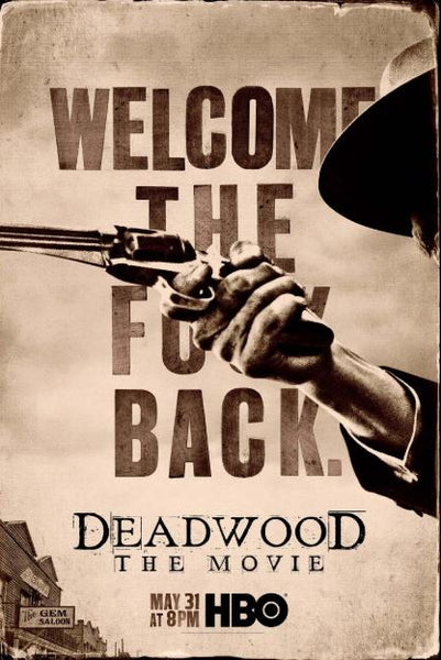 DEADWOOD THE MOVIE HBO HDX VUDU DIGITAL COPY MOVIE CODE