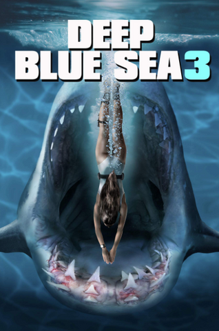 DEEP BLUE SEA 3 HDX MOVIES ANYWHERE (USA) / HD GOOGLE PLAY (CANADA) DIGITAL COPY MOVIE CODE (READ DESCRIPTION FOR REDEMPTION SITE)