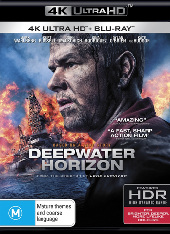 DEEPWATER HORIZON 4K UHD iTunes DIGITAL COPY MOVIE CODE - MUST HAVE A VALID CANADIAN iTunes ACCOUNT TO REDEEM