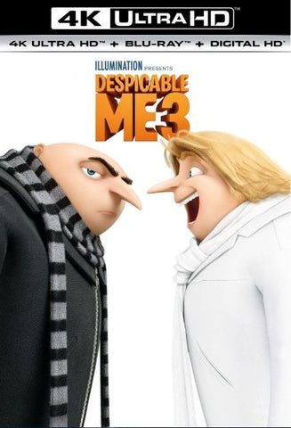DESPICABLE ME 3 4K UHD 4K iTunes DIGITAL COPY MOVIE CODE