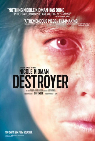 DESTROYER HD iTunes DIGITAL COPY MOVIE CODE