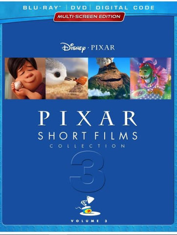 DISNEY PIXAR SHORT FILMS COLLECTION VOL 3 HD GOOGLE PLAY CODE