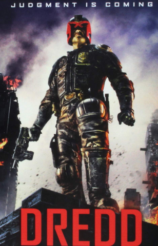 DREDD HD  iTunes DIGITAL COPY MOVIE CODE - MUST HAVE A VALID CANADIAN iTunes ACCOUNT TO REDEEM