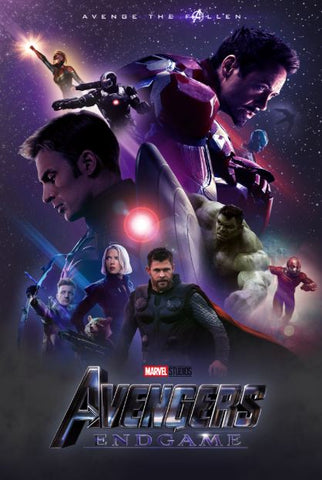 AVENGERS ENDGAME MARVEL DISNEY DIGITAL COPY HD GOOGLE PLAY DIGITAL CODE