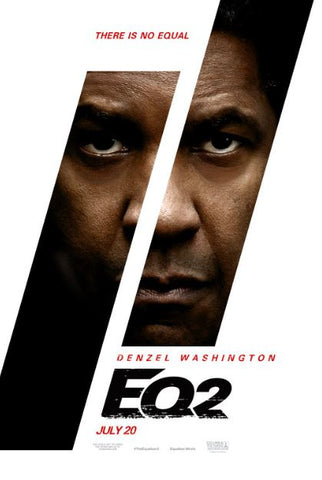 THE EQUALIZER 2 HDX UV ULTRAVIOLET DIGITAL MOVIE CODE