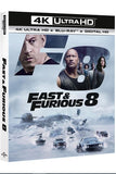 FATE OF THE FURIOUS 8 (THE) FAST AND FURIOUS 8 EXTENDED DIRECTOR'S CUT / THEATRICAL 4K UHD 4K iTunes DIGITAL COPY MOVIE CODE ONLY - USA CANADA