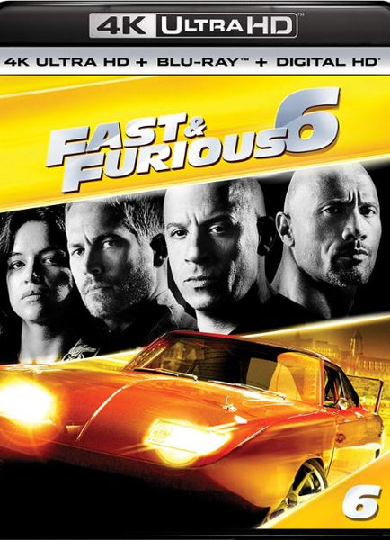 FAST & FURIOUS 6 EXTENDED VERSION 4K UHD 4K iTunes DIGITAL COPY MOVIE CODE