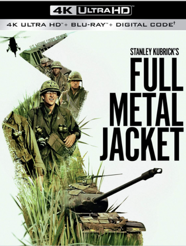 FULL METAL JACKET 4K UHD 4K MOVIES ANYWHERE (USA) / 4K UHD GOOGLE PLAY (CANADA) DIGITAL COPY MOVIE CODE (READ DESCRIPTION FOR REDEMPTION SITE)