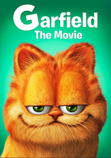 GARFIELD THE MOVIE HDX UV, HD ITUNES, HD GOOGLE PLAY DIGITAL COPY MOVIE CODE