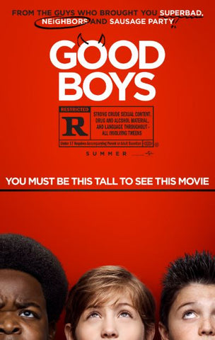 GOOD BOYS HD GOOGLE PLAY DIGITAL COPY MOVIE CODE