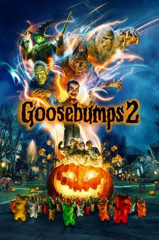 GOOSEBUMPS 2 HD GOOGLE PLAY DIGITAL COPY MOVIE CODE