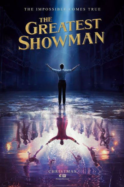 THE GREATEST SHOWMAN HD GOOGLE PLAY (DIRECT INTO GOOGLE PLAY) DIGITAL COPY MOVIE CODE