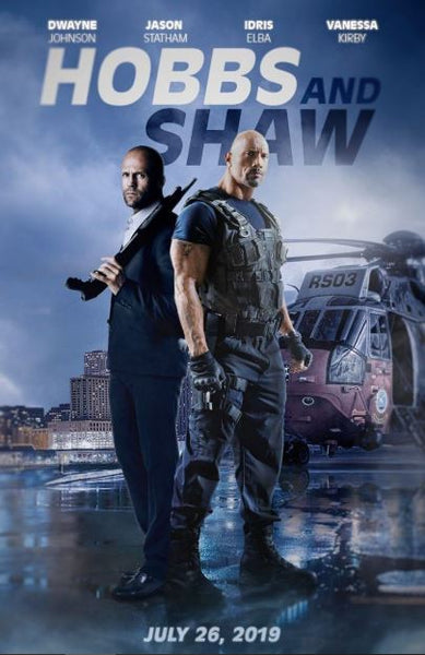 HOBBS & SHAW FAST AND FURIOUS PRESENTS HD GOOGLE PLAY DIGITAL COPY MOVIE CODE