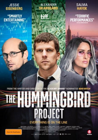 THE HUMMINGBIRD PROJECT HD iTunes DIGITAL COPY MOVIE CODE