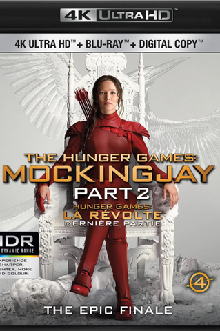 HUNGER GAMES (THE) 3 MOCKINGJAY PART 1 4K UHD 4K iTunes DIGITAL COPY MOVIE CODE - MUST HAVE A VALID CANADIAN iTunes ACCOUNT TO REDEEM