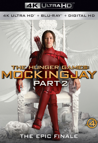 HUNGER GAMES (THE) 4 MOCKINGJAY PART 2 4K UHD 4K iTunes DIGITAL COPY MOVIE CODE - MUST HAVE A VALID CANADIAN iTunes ACCOUNT